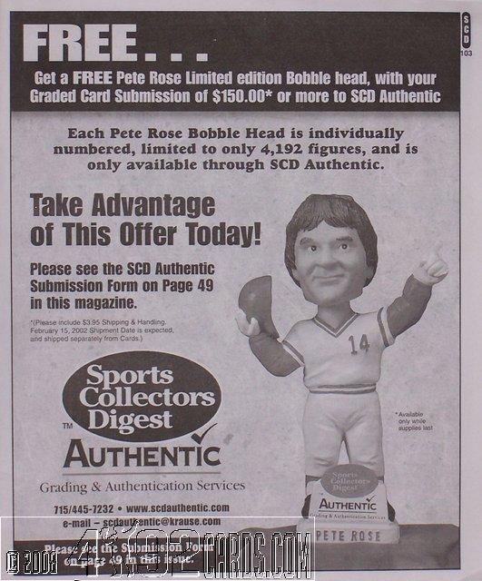 pete rose print advertisements 1980